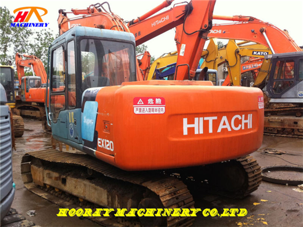Used Hitachi EX120-3 Excavator